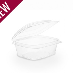 Hinged Deli Containers - Compostable