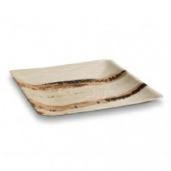 Palm Plate Square Large 10 inches