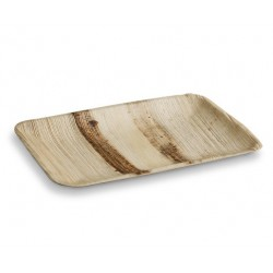 Palm Plate Rectangle Large 23x15cm