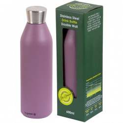 Reusable Double Wall Drink Bottle - Berry