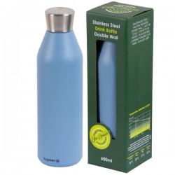 Reusable Double Wall Drink Bottle - Surf