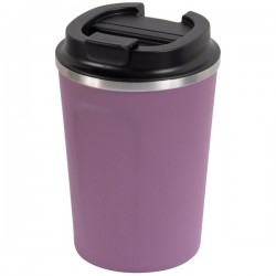 Reusable Double Wall Coffee Cup - Berry