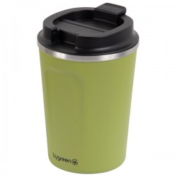 Reusable Double Wall Coffee Cup - Olive