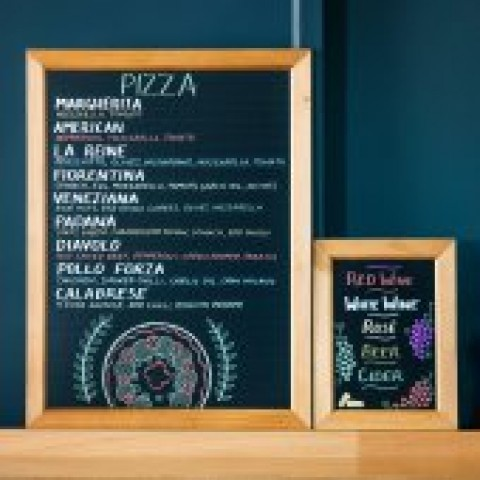 Blackboards and Signs