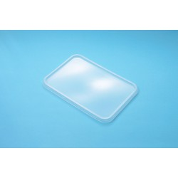Plastic Container Rectangle - Lid