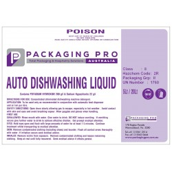 Automatic Dishwashing Liquid 20 Litres