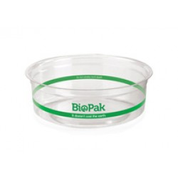 Eco Friendly BioPlastic Clear Container - 240ml