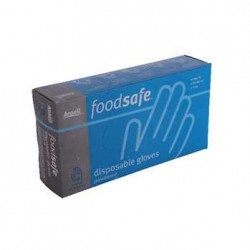 Food Grade Blue Vinyl Gloves (1000 per carton)