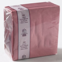 Napkin Antique Rose Luncheon 2 Ply