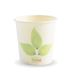 120ml / 4oz Leaf Single Wall BioCup