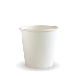 120ml / 4oz (63mm) Leaf Single Wall BioCup