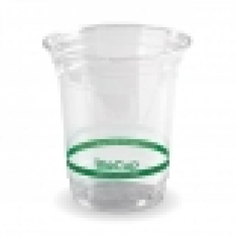 Clear Cold BioCups and Lids