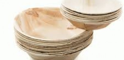 Palm Leaf Plates and Bowls