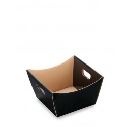 Small Black Deluxe Hamper Tray