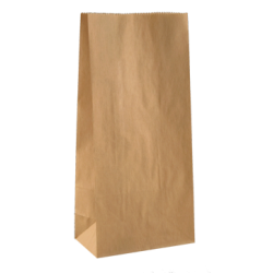 Paper Flat Bottom Bag - Medium
