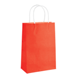 Kraft Junior Paper Bag - Radiant Red