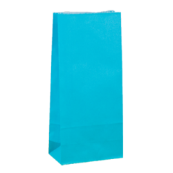 Carnival Paper Gift Bag - Small Beach Blue