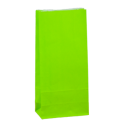 Carnival Paper Gift Bag - Small Loud Lime