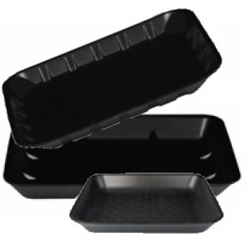 Black Coloured Trays