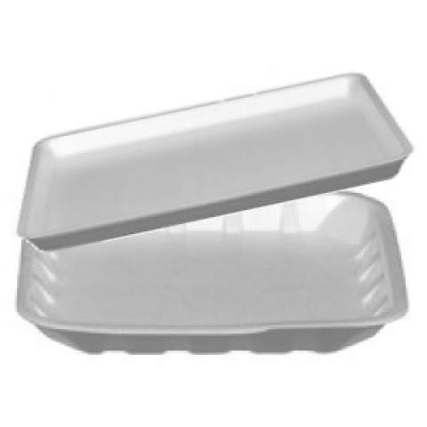 White Coloured Trays