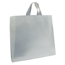 Plastic Soft Loop Fashion Bag - Frosted