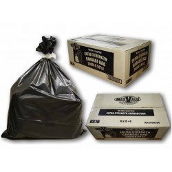 Bin Liners Heavy Duty - Black 120L