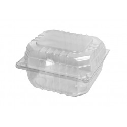 Plastic ClearPack Burger Clam - Extra Small