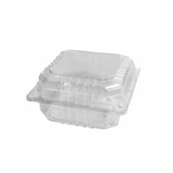 Plastic ClearPack Burger Clam - Large