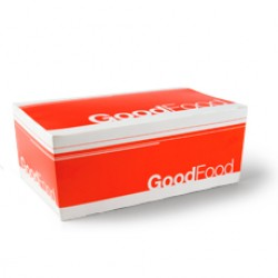 Paper Large Snack Boxl - Good Food