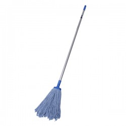 Sabco Power Cotton Mop With Aluminium Handle - Complete (Blue 400g)