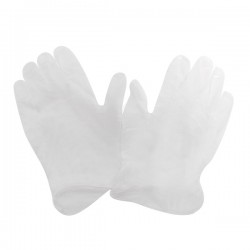 Sabco Vinyl Disposable Gloves - 100Pk