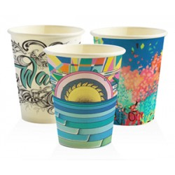 Eco Friendly Hot Paper Cup - 12oz Single Wall