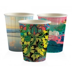 Eco Friendly Hot Paper Cup - 12oz Double Wall