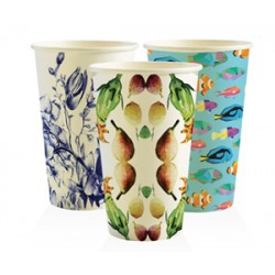 Eco Friendly Hot Paper Cup - 16oz Single Wall