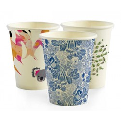Eco Friendly Hot Paper Cup - 8oz BioCup – single wall