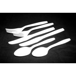 Plastic Cutlery - Fork Knife and Napkin Set