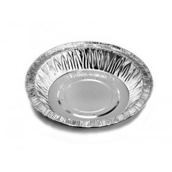 Foil Container Round 21212P8 - Pie/Tart Small Perforated 94ml