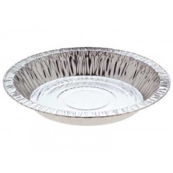 Foil Container Round 4020P4 - Pie Large Perforated  550ml