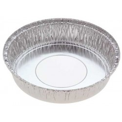 Foil Container Round 5226 - Cheesecake Large 2035ml (Hole in Base)