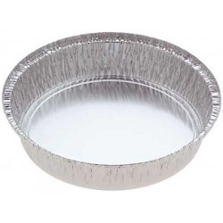 Foil Container Round 5326 - Cheesecake Large 2035ml (No Hole In base)