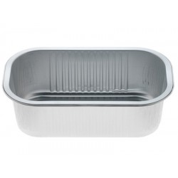 Foil Container Oblong D232-58 - Smoothwall Uncoated 1080ml