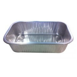 Foil Container Oblong D276-75 - Smoothwall Uncoated 2300ml
