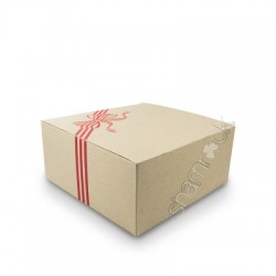 Cake Box Heavy Duty - Red 255mm