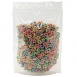 Stand Up Pouch - Resealable - Clear 250g