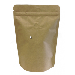 Stand Up Pouch - Resealable - Kraft Paper 250g With Valve