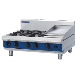 Blue Seal by Moffat 4 Burner Natural Gas Cooktop G516C-B