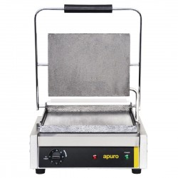 Apuro Bistro Large Contact Grill Smooth Plates