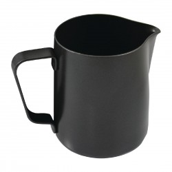 Rhinowares Stealth Milk Steaming Jug Black 300ml