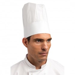 Disposable Chefs Paper Toque Hat