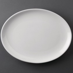 Athena Hotelware Oval Coupe Plates 254x 178mm